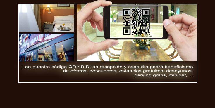 promociones-cuponeras- cupon -qr--movil-hotel-arturo-soria-suites-en-peru-colombia-mexico-chile