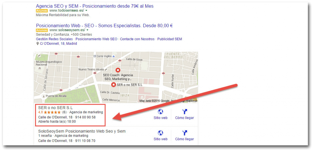 mi negocio google bussines